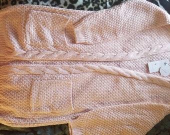 2xL Pink Cardigan Steve McQueen