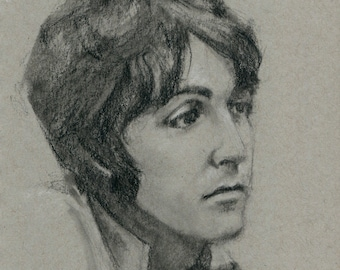Original Drawing: Paul McCartney No. 2