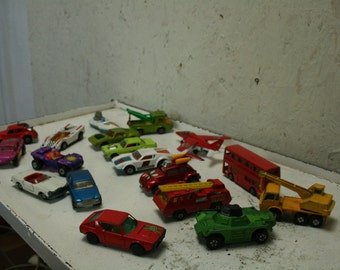 18 matchbox  ,hotwheels ,lindsey die cast ,toy cars