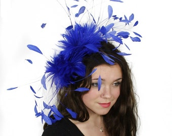 Eagle - Royal  Fascinator Kentucky Derby or Wedding Hat With Headband