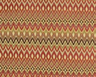San Mateo Redwood Swavelle Upholstery Southwest Chevron Fabric