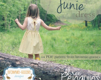 BG Originals The Junie Dress pdf pattern