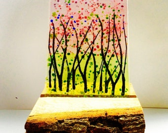 DANI WALRUND Bluebell,Cherry blossom commission