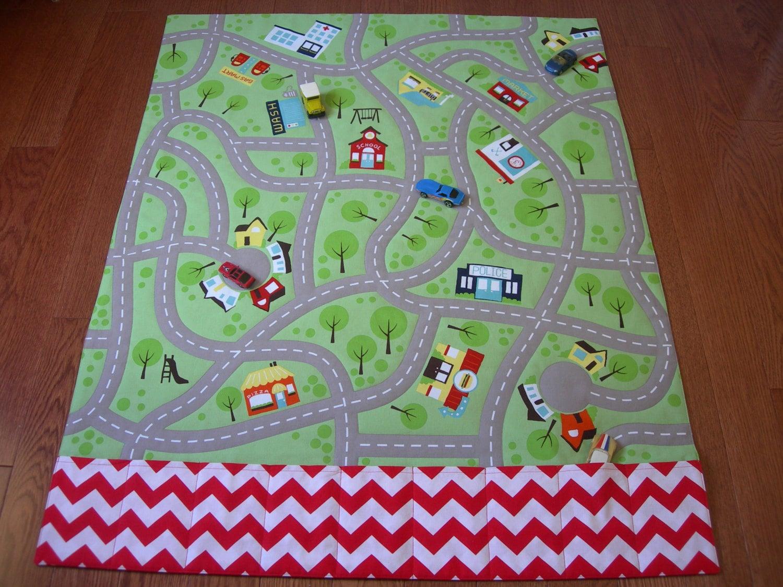 Play Mat Large Town Play Mat Road Play Mat Car Play Mat