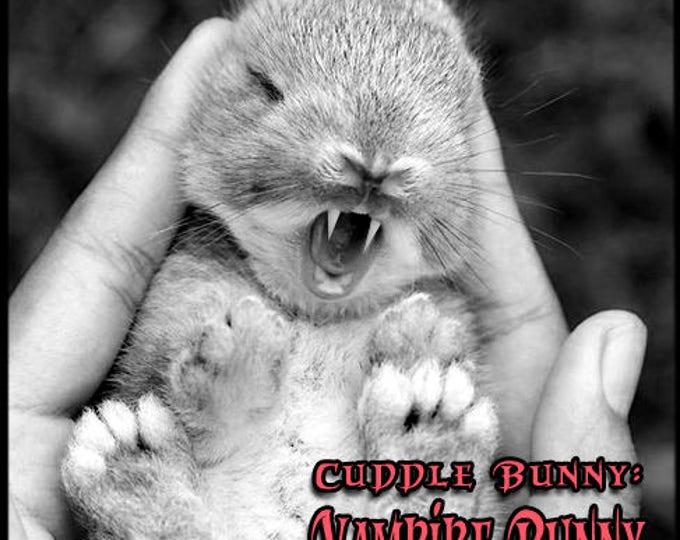 Cuddle Bunny: Vampire Bunny - Halloween 2017 Collection - Pheromone Enhanced Perfume for Women - Love Potion Magickal Perfumerie