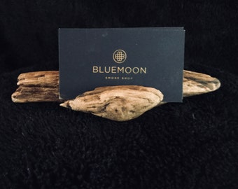 Driftwood 2 slot Business Card Holder
