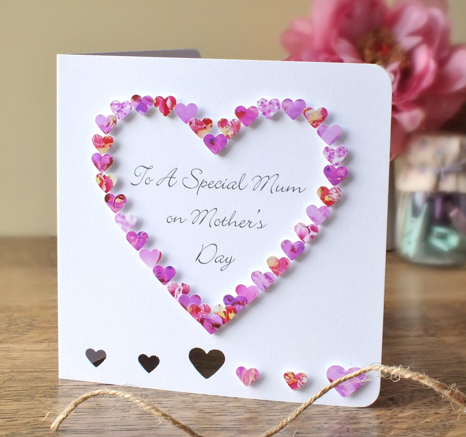 Handmade 3d mothers day card personalised personalized zoom kristyandbryce Image collections