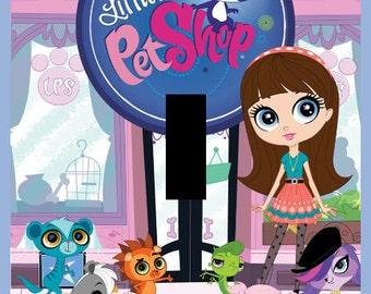 Littlest Pet Shop Single Light Switch Plate Cover