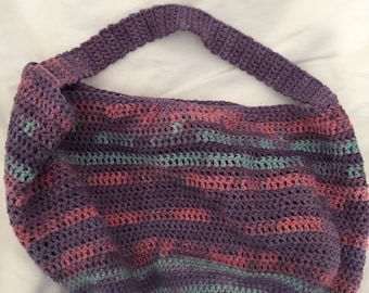 Crochet tote bag - small