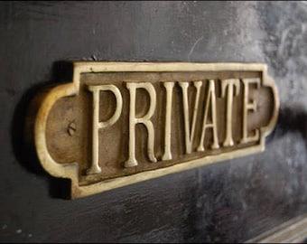 Private listing