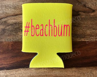 Beach Bum Can Cooler