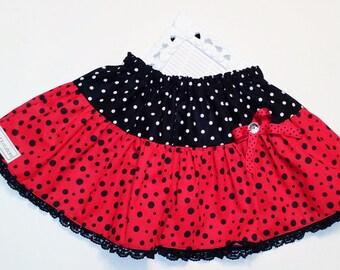 SAMPLE SALE Ladybug Skirt