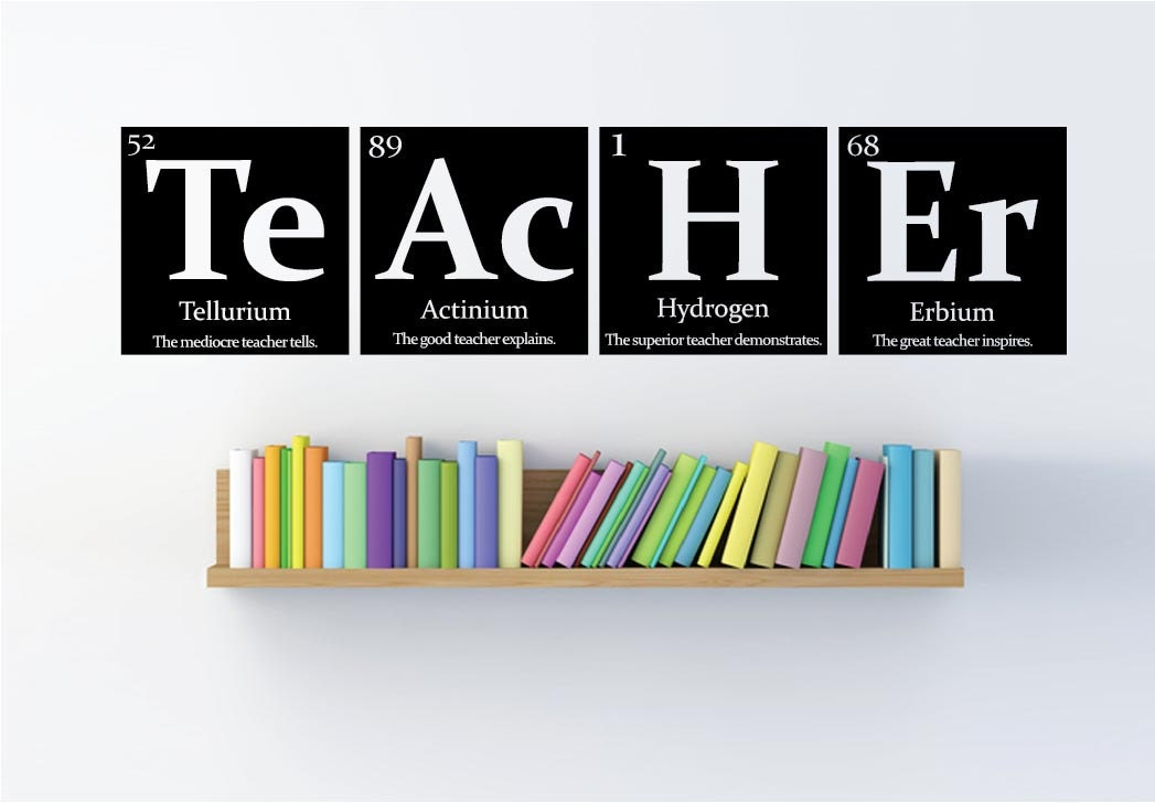 Teacher gift periodic table of elements teacher zoom urtaz Images