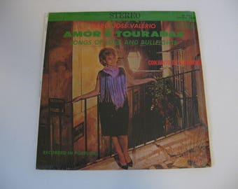 Rare! Maria Jose' Valerio - Amore E' Touradas -  Circa 1960's