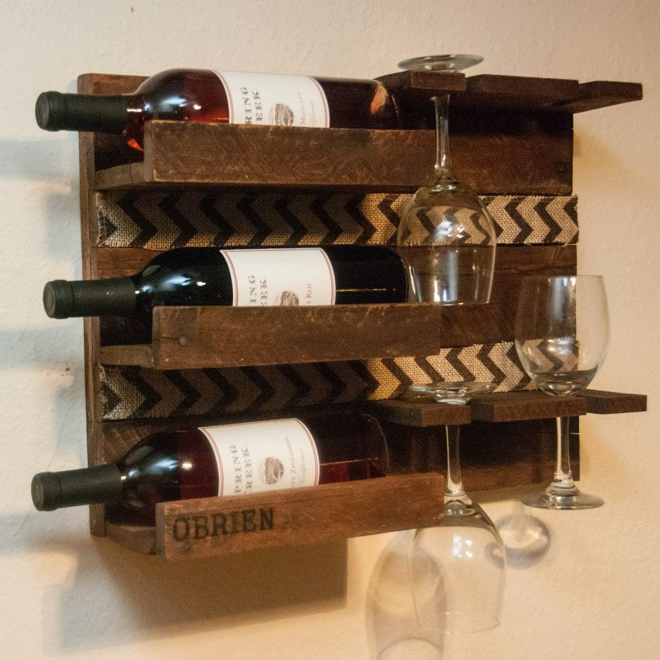 unique custom gift gift for parents gift for couple wine rack - 🔎zoom