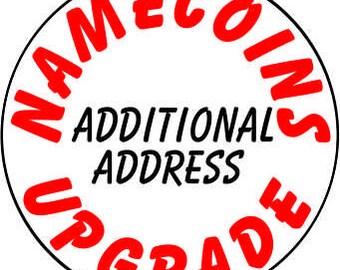 Additonal Shipping Address