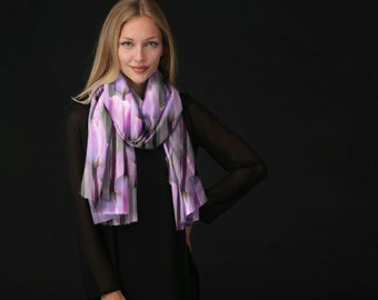 Cashmere Silk Scarf - Across by VIDA VIDA w8P87