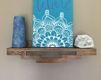 believe mandala canvas