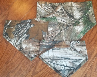 Tree Camo Pet Bandana