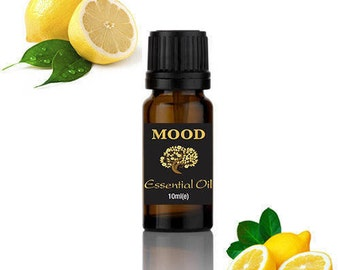 10ml Lemon Essential Oil Aromatherapy Diffuser Burner Therapeutic Oils