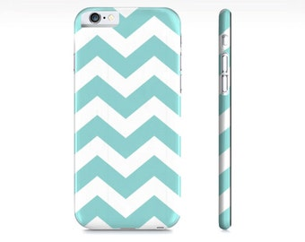 iPhone 6 case, iPhone 7 Case Chevron iPhone Case - Blue and White Chevron Phone Case - Chevron  - Chevron iPhone Case -