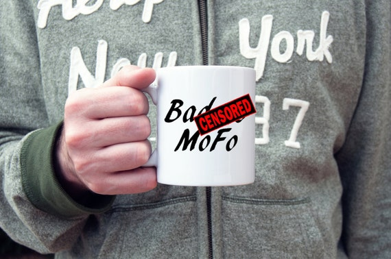 Badass coffee mug,funny coffee mug, badass mofo, coffee cup, novelty mug,  gifts for him, gifts for her, gifts under 20, rude mug