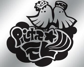SPLATOON Squid Sisters Logo Vinyl Decal - 9 Color Choices!