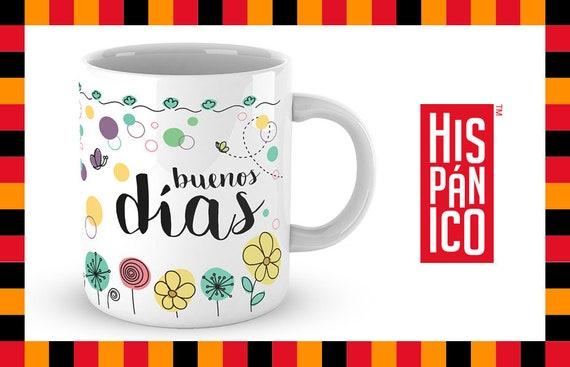 "Spanish Mug ""Buenos días"""