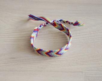 Friendship Bracelet, friendship bracelet, chevron