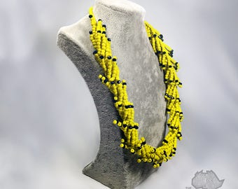 Unique Beaded Necklace set