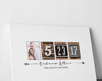 Wedding Guest Book Wedding Guestbook Custom Guest Book Personalized wedding photo guestbook wedding gift wedding keepsake -4
