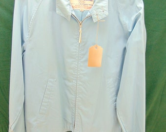 1960's Lakeland (42) light weight Blue Collegiate Vintage Jacket Chest 44 inches