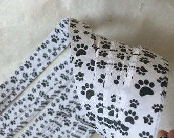 Paw Prints~ Moravian German Froebel Star Paper (52 strips)