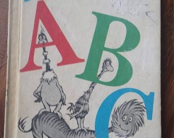 Dr. Seuss Children's Books - Vintage Classic Books - Beginner Kids Books - Old Used Books -