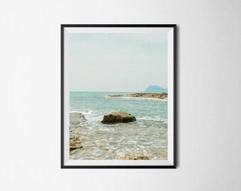 Printable Photography Wall Art, Hawaiian Coast, Printable Art, Digital Download, Instant Download