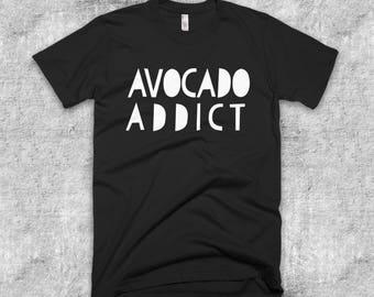 Avocado Addict Short-Sleeve American Apparel T-Shirt