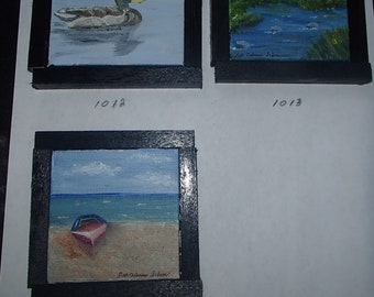 Original Mini Oil Paintings