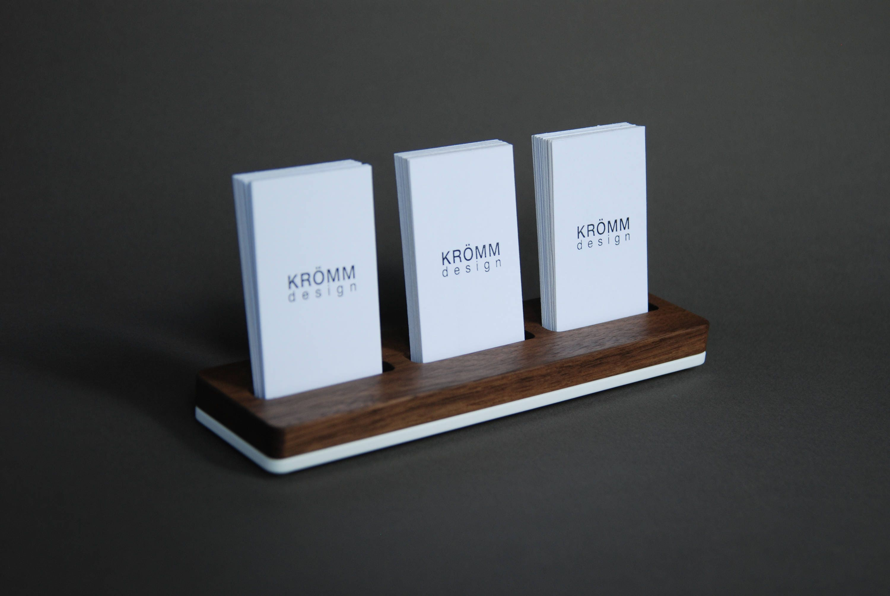 Wood business card stand multiple moo business card holder wood business card stand multiple moo business card holder walnut wood and acrylic 3 vertical business card stand colourmoves