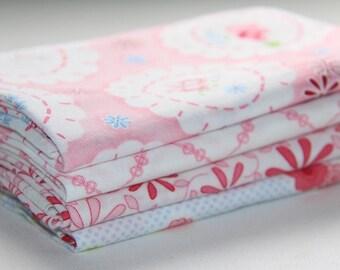 Fancywork Box, Hugs n Kisses, Helen Stubbings, 4 Fat 1/4's, Fabric Bundle 1, Quilt Fabric Australia. Free Shipping Available, 4 fat Quarters