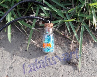 Under The Sea - Fish - Bottle Necklace - Vial - Sea Animals