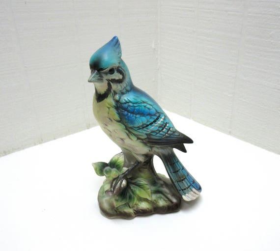 Vintage Ardco Ceramic Porcelain Blue Bird Made In Japan