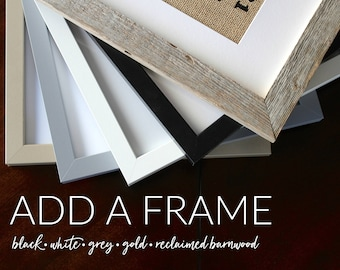 ADD A FRAME for 5x7, 8x10 or 11x14 Print - 5 Color Options! {Frame Only! Add to cart with any print listing!} View All Photos for Details
