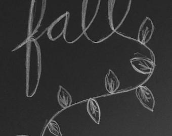 fall print