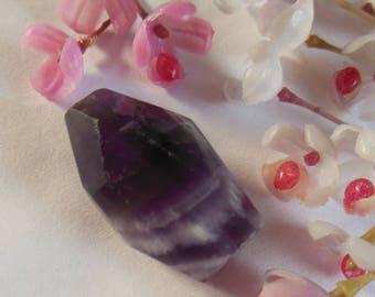 pretty purple gemstone bead