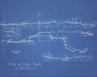 New york city map blueprint 1885 map of new york newark new york subway map new york map subway map blueprint map subway art subway malvernweather Gallery