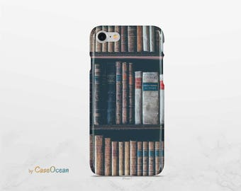 Old book phone case, iPhone X 8 7 6 6s Plus phone case iPhone SE 5 5s iPhone case Samsung Galaxy Note8 S8 Plus S7 Edge old book phone cover