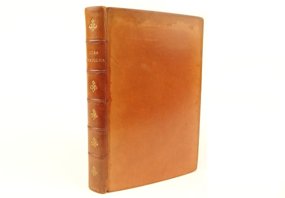 1901 Lyra Apostolica (christian poetry). Fine binding by Bumpus of Oxford