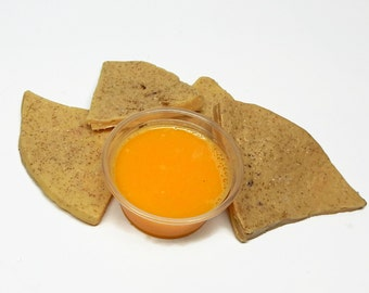 Nachos and Cheese Shaped Soap