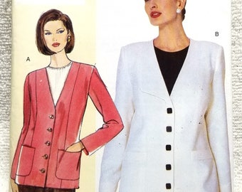 Vogue v301, Today's Fit, Sandra Betzina, Misses Petite Jacket Sewing Pattern, US Sizes 10, 12, 14, 16