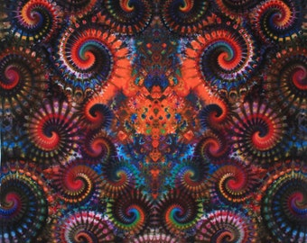 Custom Tie Dye Super Tapestry From Timofey Malyarov